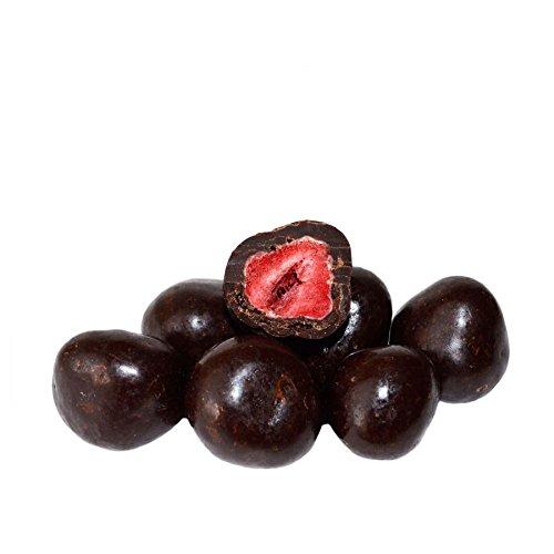 Gefriergetrocknete Erdbeeren in Zartbitterschokolade 500 g