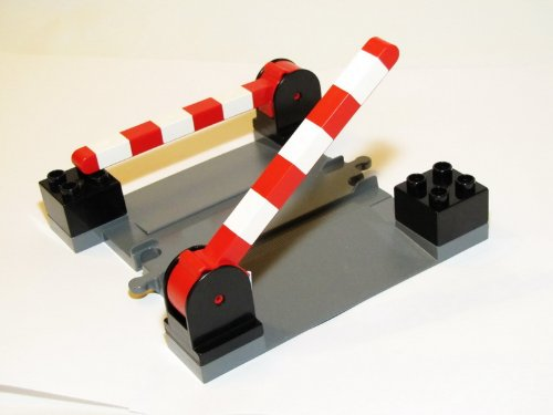LEGO DUPLO Bahnübergang Neu aus 5609