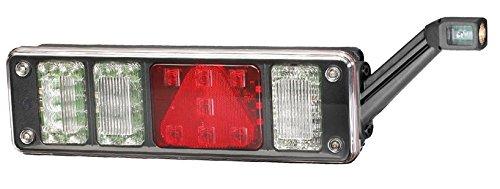 Hella 2VP 340 961-121 achterlicht, rechts, 24 V, met hybridetechnologie, met houder, met gloeilampen