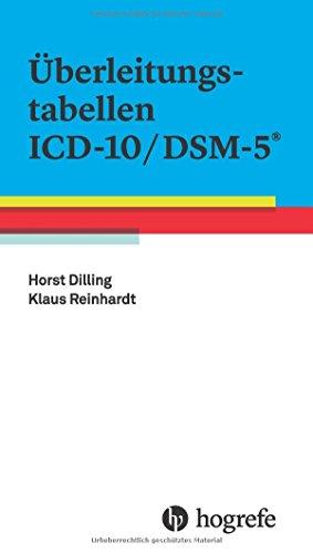 Überleitungstabellen ICD–10/DSM–5