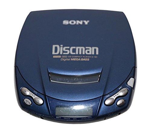 Sony D-191 Discman in blau