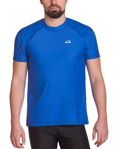 iQ-UV Herren UV-Schutz T-Shirt IQ 300 Watersport, dark-blue, L (52)