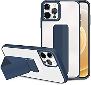 Stylish Multi Use Case Cover For iPhone 11 Pro Max Transparent In Navy