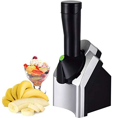 JDYDDSK Home Eismaschine Maschine,2021 Neue verbesserte Make Delicious Ice Cream Sorbets und Frozen Yogurt Maker Tragbarer Haushalt Gesundes Dessert Obst Soft Serve Ice Cream Machine