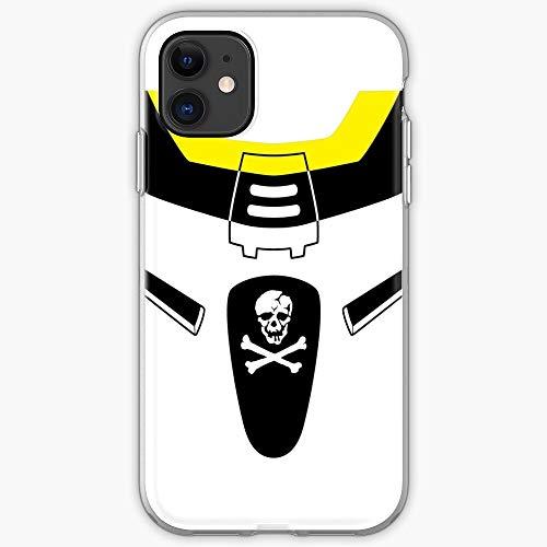 Minmei Squadron Skull Rin Roy Ichijo Focker Macross Mecha Valkyrie Anime Hikaru- Phone Case for All of iPhone 12, iPhone 11, iPhone 11 Pro, iPhone XR, iPhone 7/8 / SE 2020… Samsung Galaxy