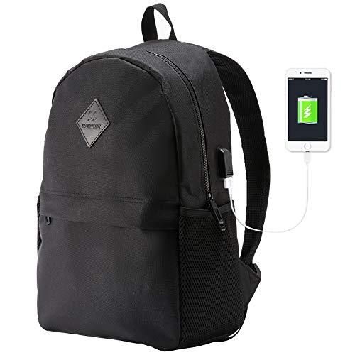 Laptop Backpack 15.6 inch Stylish College School Teens Bookbags USB For Boy Girl