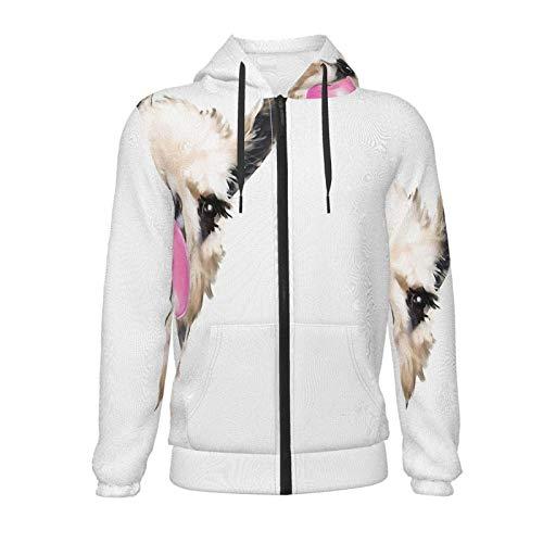 Sneaky Llama mit Bubble Gum Jungen Mädchen Novetly Hoodies Pullover Kapuzenpullover Sweatshirts Tops Bluse 7-20 Jahre Gr. S, Schwarz