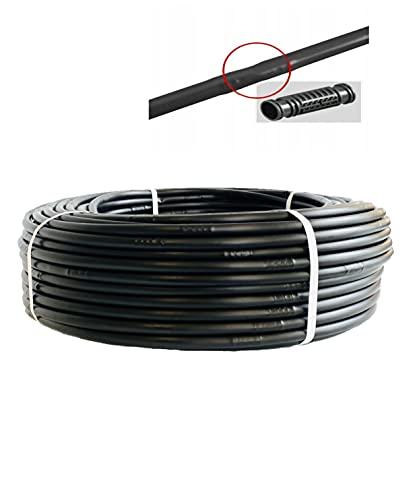 UZMAN Tropfschlauch Perlschlauch Tropfrohr 16 mm Gartenbewässerung Gartenschlauch (50M bis 400M + Kombivorteil)