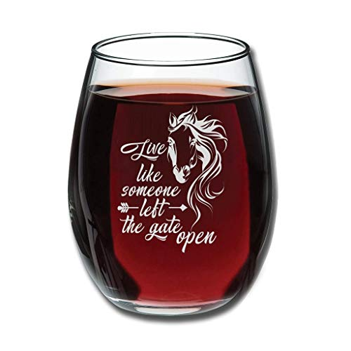 Chicici Fashion Copa de vino tinto Live Like Someone Who Alive Upgrade Grabado - Taza de leche Decoración especial blanco 350ml