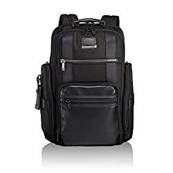 cheap TUMI – Alpha Bravo Shepherd Deluxe Letter Backpack Laptop Backpack – With a 15 inch Men's Computer Bag…