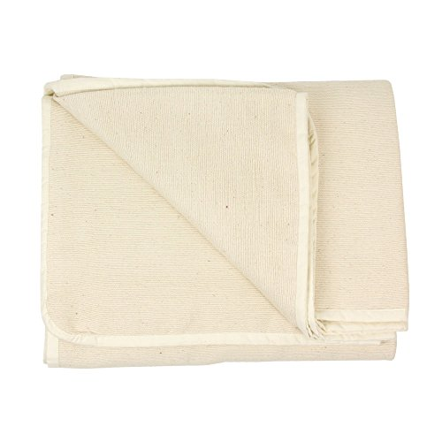 Yoga-mad YBLANKETSL-Nat Algodón Manta de Yoga, Unisex Adulto, Natural, Talla Unica