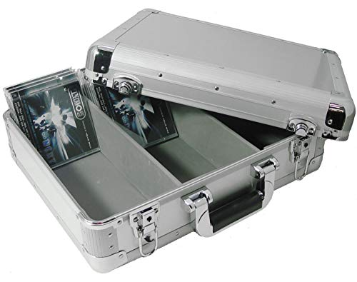 Zomo CD Case MK1 Silver - CD-koffer voor DJs, zilver/zilver