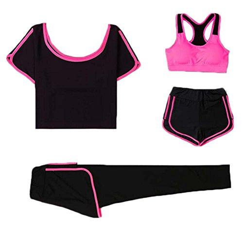 East Majik Laufen Sport Yoga Gym Outfit Workout Athletic Anzug Set