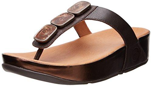 e0fe7306f691 Fitflop Pietra Ii Flip Flops Chocolate Brown - GemmaScism45