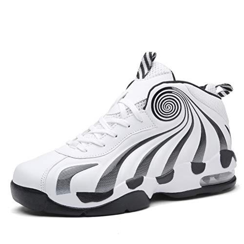 LFEU Männer Basketball Schuhe Luftkissen Stoßdämpfung Atmungsaktiv Verschleißfeste Männliche Fitness Turnschuhe
