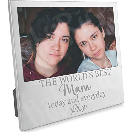 BabyRice Cadre Photo pour fête des mères ou Anniversaire Mam Mum de Son Fille Children