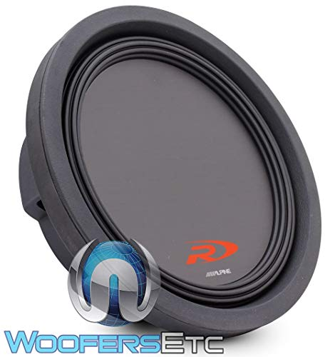 Alpine Swr-t10 10-Inch Shallow Mount Subwoofer
