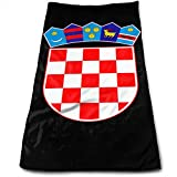 Bert-Collins Towel Escudo de Croacia Toallas de Playa Toallas de Playa 80x130cm