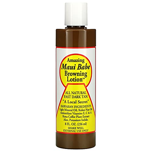 Browning Lotion - All Natural Fast Dark Tan 8 fl.oz