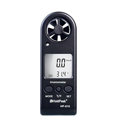 Anemómetro con termómetro digital para Kitesurf / Windsurf / Vela (JT-816)