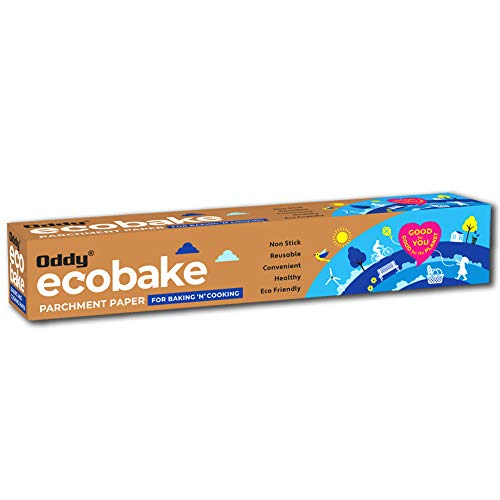"""Oddy Ecobake Baking & Cooking Parchment Paper 10"""" X 20 Mtr"""