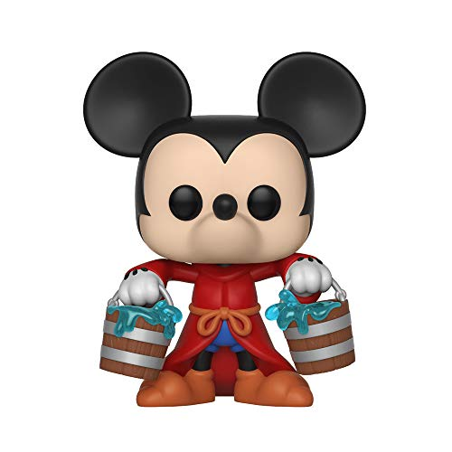 Funko Pop Disney: Mickey's 90Th - Apprentice Mickey Collectible Figure, Multicolor