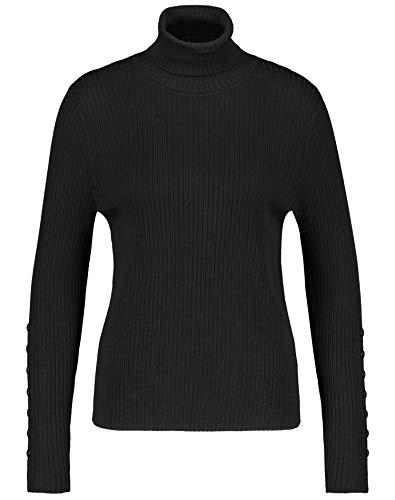 Gerry Weber Damen 271018-35711 Pullover, Schwarz (Schwarz 11000), (Herstellergröße: 44)