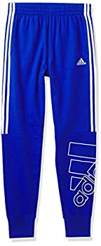 adidas boys Brand Love French Terry Jogger Pants Team Royal Blue X-Large US
