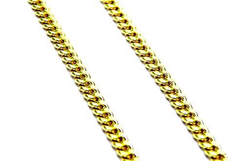 Collana da Uomo in Oro Giallo 18kt (750) Catena Grumetta Cm 50