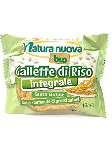 Gallette di Riso BIO Natura Nuova Fragranti e Gustose, Senza Glutine 13gr - 32 confezioni