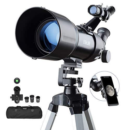 ESSLNB Telescopio Astronomico 40080 Telescopio Astronomico Profesional con 10X Adaptador de...