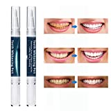 Onkessy Teeth Whitening Pen 2 Pcs Easy To Use Remove Yellow Teeth Brighten Teeth Fast and Effective Whitening Teeth