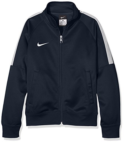 Nike Kinder Jacke Team Club Trainer, obsidian/football white, L