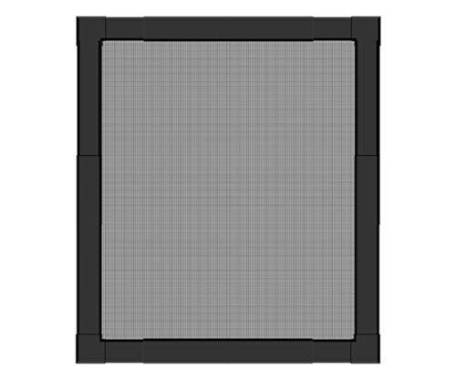 Schellenberg 70083 Insektenschutz-Fenster Telescope bis 100 x 120 cm Fliegengitter für Fenster