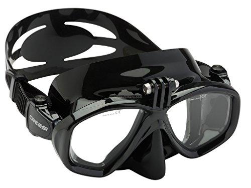 Cressi Action, máscara buceo cámara GoPro Unisex