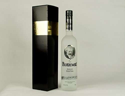 Geschenkidee Paderewski Exclusive Polish Vodka in Geschenkbox