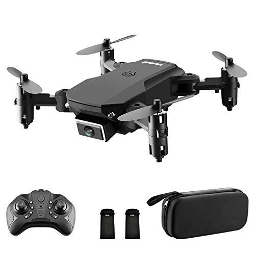 GoolRC S66 RC Drohne mit Kamera 4K-Drohne Dual Kamera Optische Flusspositionierung WiFi-FPV Drohne Headless-Modus Höhenhaltegeste Foto Video Track Flug 3D Filp RC Qudcopter Tragbare Tasche