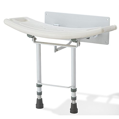 Elite Care ECSS05W Fold Down Seat with Legs