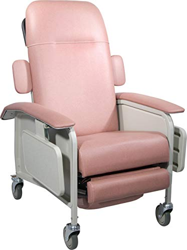 Drive Medical Model-D577-J Clinical Care Geri Chair Recliner, Jade