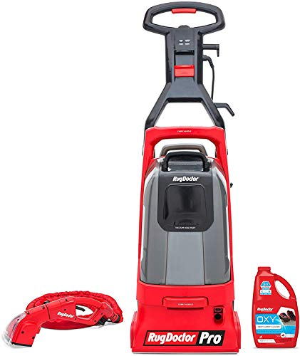Rug Doctor Pro Deep Commercial Cleaning Machine with Motorized Upholstery Tool, Large...