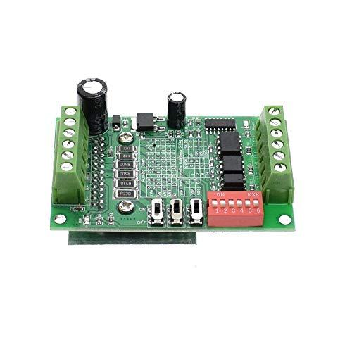 SODIAL Haute Qualite TB6560 3A 10 fichiers Carte de pilotage Routeur CNC Controleur simple 1 axes Pilotes de moteur pas a pas