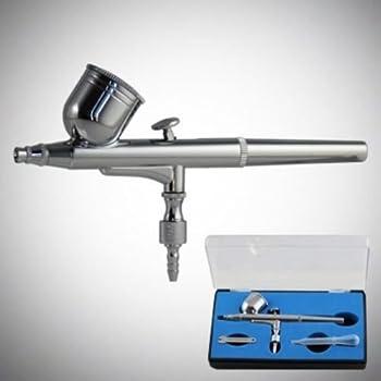 GotHobby 0.3mm Gravity Feed Dual-Action Airbrush Paint Spray Gun Kit Set