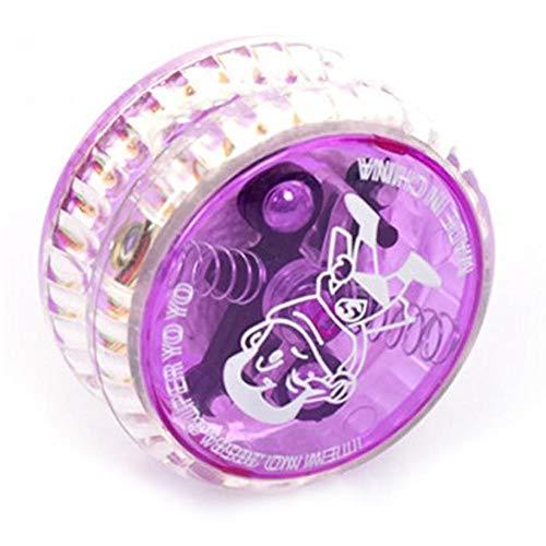 Onsinic Magic Yoyo Led Light Light Toys Clásico Práctica Profesional Malabarismo Mesabeos...