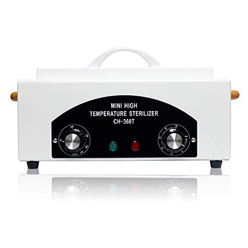 WDDMFR Nail Art UV-Sterilisator Desinfektionsbox , Band Timer Multifunktions 360 Grad UV Sterilisatoren , Für Nail Salon Art Makeup Sterilisationstablett