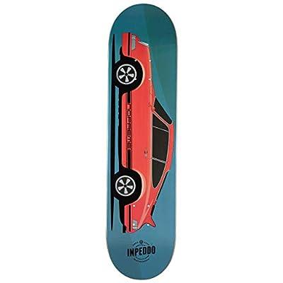 "Inpeddo x Nopreme Skateboard Deck Fast Classics 1973 Seventythree 8.375"" (Blue)"
