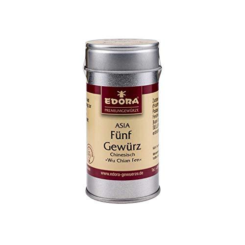 Premium Qualität Gewürz EDORA Streudose Streuer ASIA Fünfgewürz Gewürzmischung Chinesisch Wu Chian Fen 30 Gramm