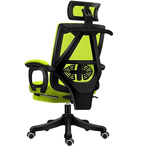 Home Office Chair Rückenlehne Mitarbeiter Ergonomische Spiel Drehstuhl Reclining Gaming Sitz Computer Stuhl black1