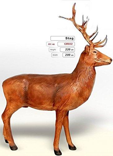 Hirsch (Lebensgroß) - Tierfiguren - GR032