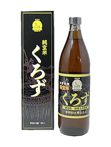 純玄米黒酢 瑞穂酢 純玄米くろず 900ml×6本 ■ミヅホ