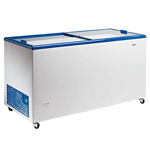 Arcon congelador puerta cristal 305 litros - Maquinaria Bar Hostelería
